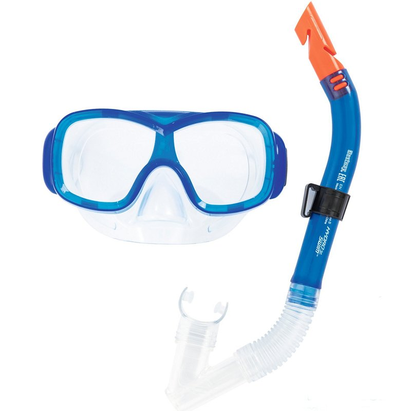 Набор для плавания, маска+трубка (Bestway 24032)