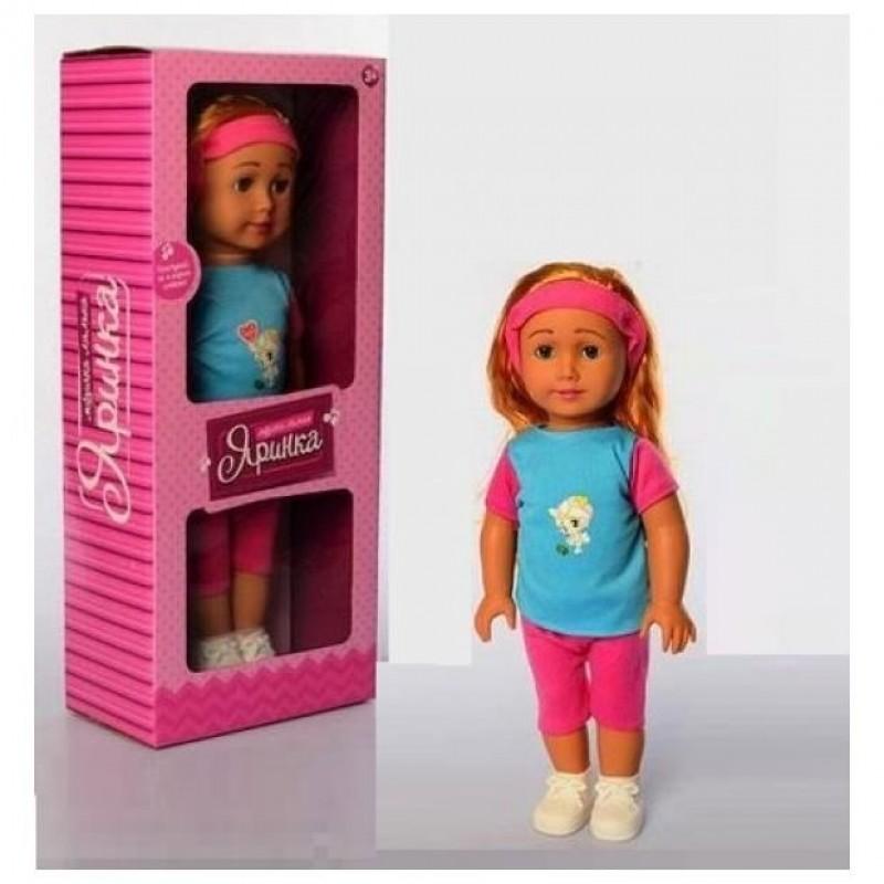Кукла Яринка, 6 видов (арт. M5438-1SUA)