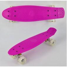 Скейт Penny Board, Розовый (Best Board 0740)