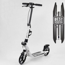 Двухколесный самокат с ручным тормозом (Best Scooter 81937)