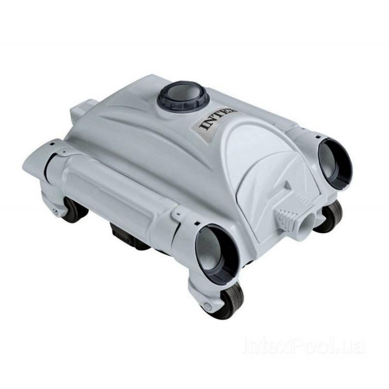 Автоматический подводный робот-пылесос для бассейнов (Intex 28001)