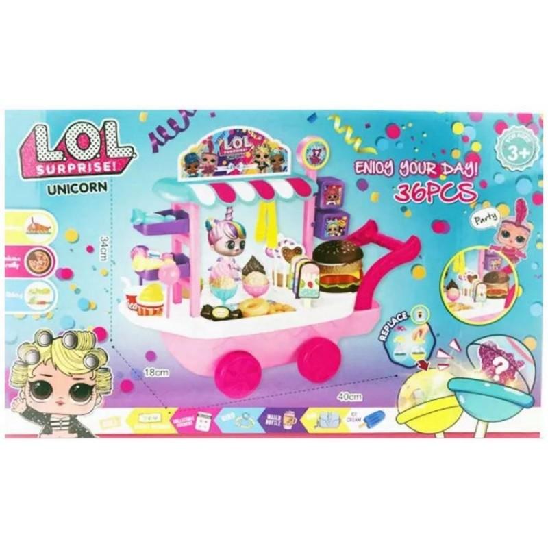 Игровой набор LOL - Тележка со сладостями (арт. PC2345)