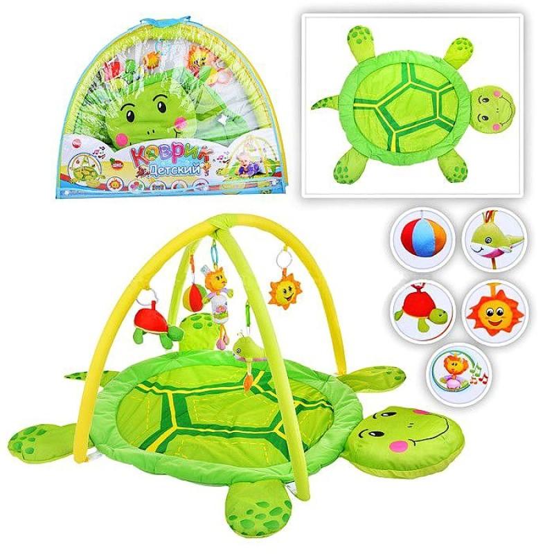 Гимнастический коврик для малышей - Черепаха (898-12B)