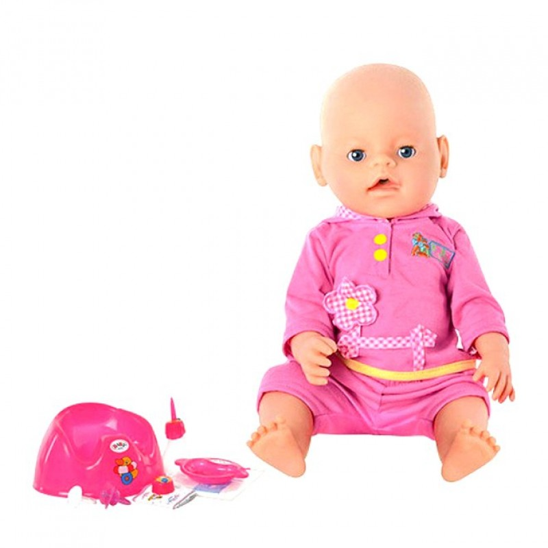 Пупс Маленькая Ляля, 9 функций, аналог Baby Born (арт. 8001-4R)