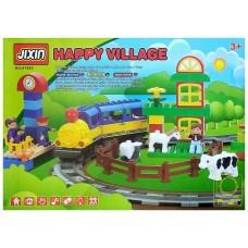 Железная дорога - конструктор (Jixin 6188C)