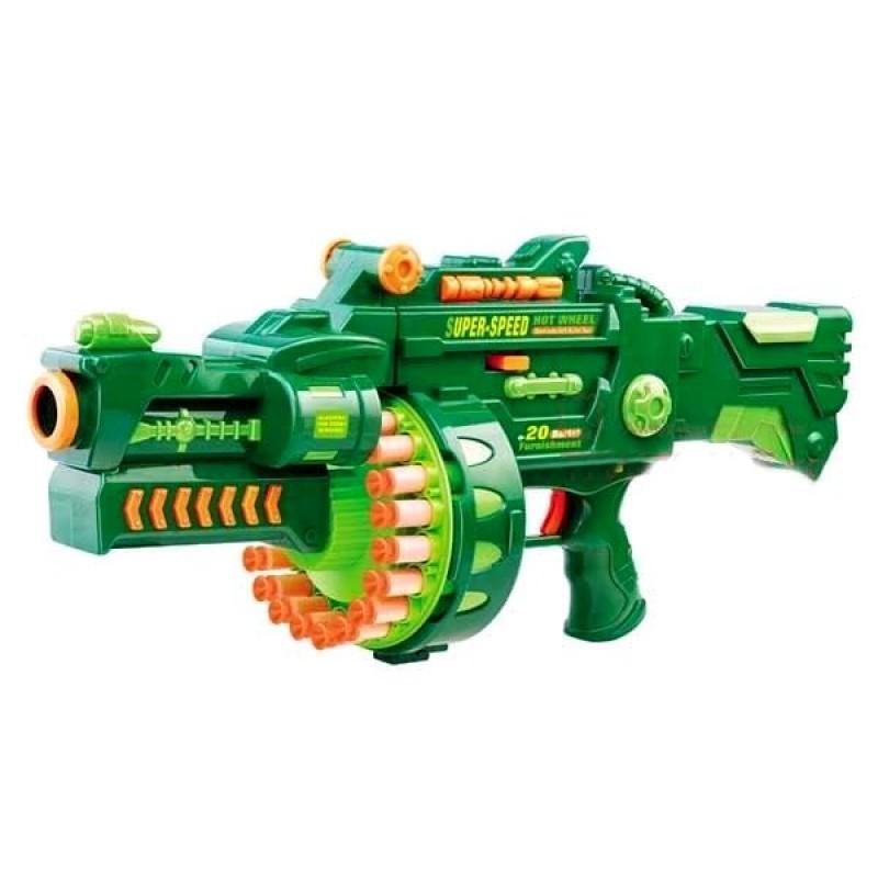 Пулемет с мягкими пулями (Limo Toy 7001)