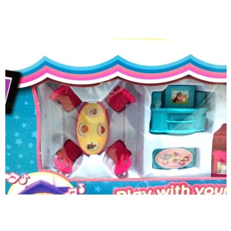 Кукольный домик Dream Dollhouse (арт. 1205AB)