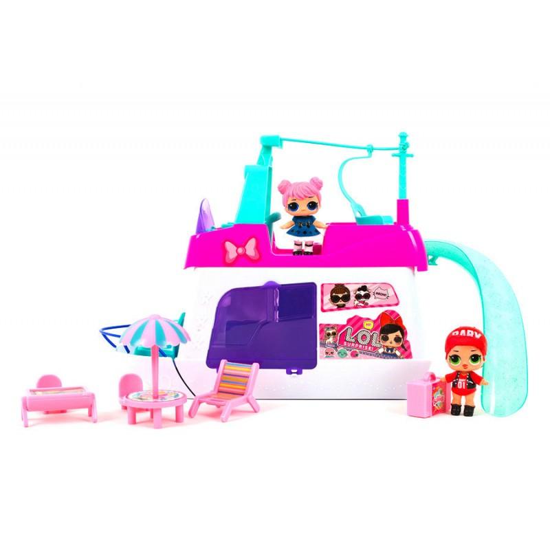 Игровой набор - Катер для вечеринки с куклами LOL (арт. TM856B)