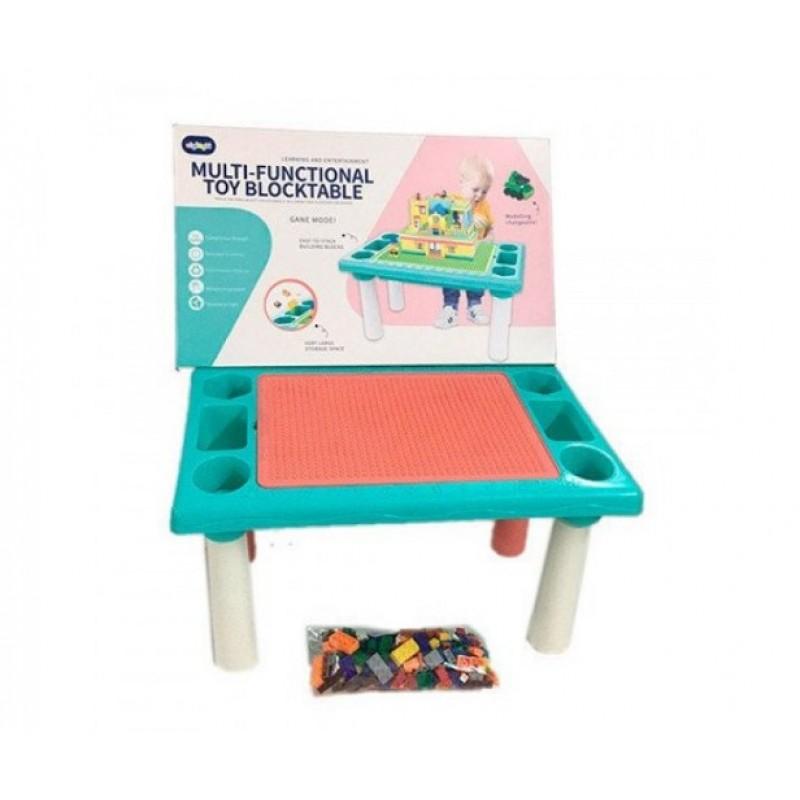 Игровой столик-песочница с конструктором, 78 дет (арт. 6308)