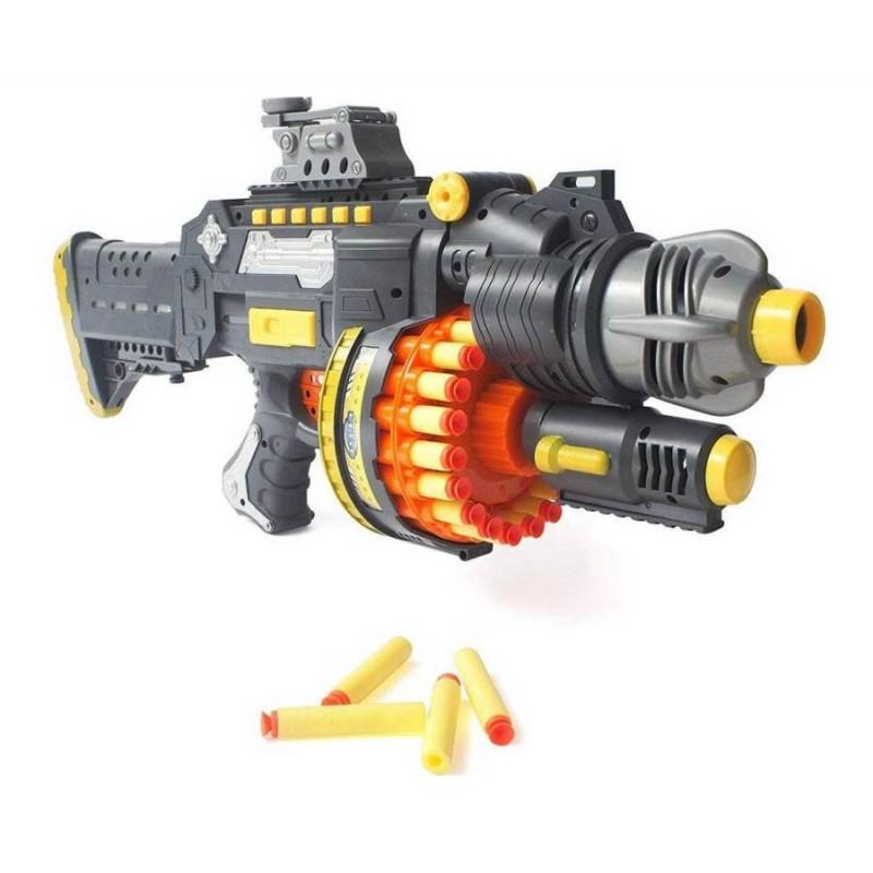 Бластер-пулемет с поролоновыми пулями (арт. SB400)