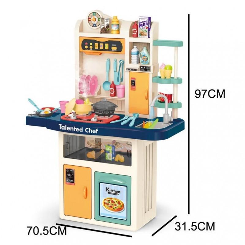 Детская игровая кухня Chef, 97 см с водой и паром (арт. 922-108)