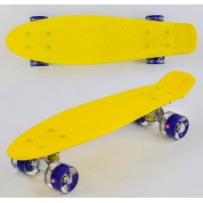 Скейт Пенни Борд, PU светящиеся колеса (Best Board 1010)