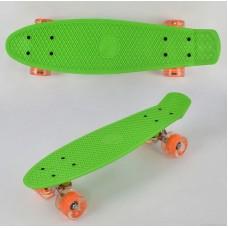 Скейт Penny Board, Салатовый (Best Board 0750)