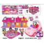 Набор с куклами LOL домом и машинкой (арт. TM924)