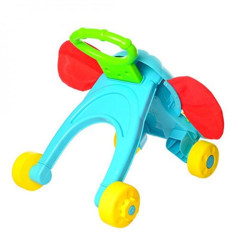 Игровой центр, каталка-ходунки Слоник (Baby Walker S919)
