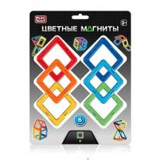 Магнитный конструктор - Цветные квадраты (Play Smart 2431)