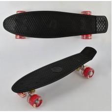 Скейт Penny Board, Черный (Best Board 0770)