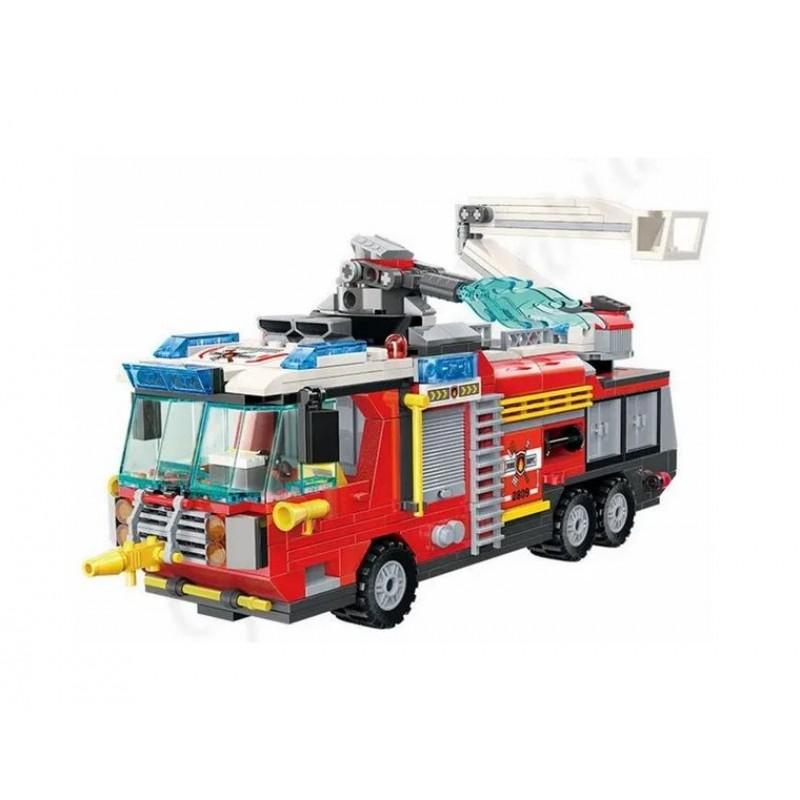 Конструктор - Fire Rescue - Пожарная машина (Qman 2809)