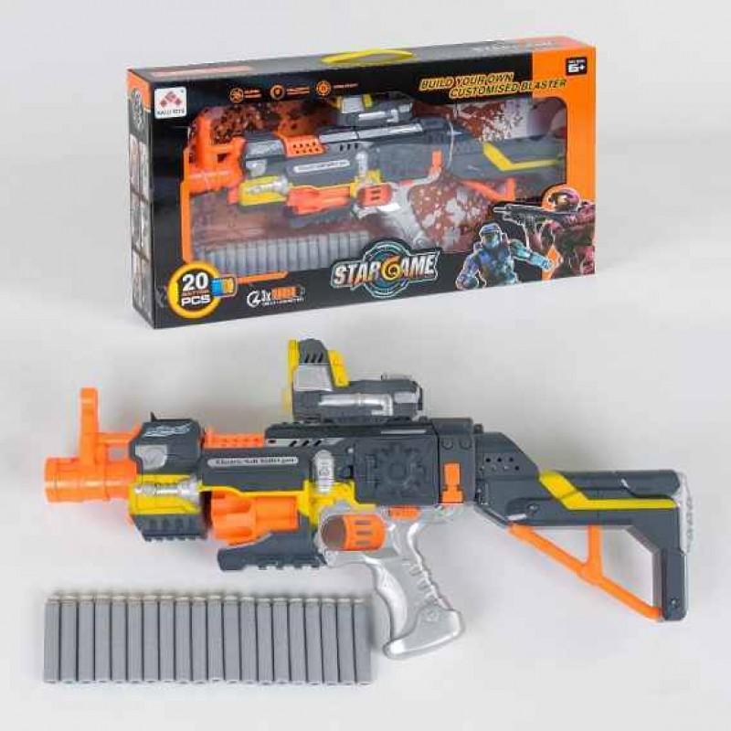 Бластер-автомат с поролоновыми пулями (арт. SB418)