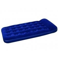 Надувной одноместный матрас с ножным насосом (Bestway 67224)