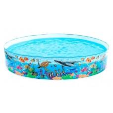 Детский каркасный бассейн - Подводный мир (Intex 58472NP)