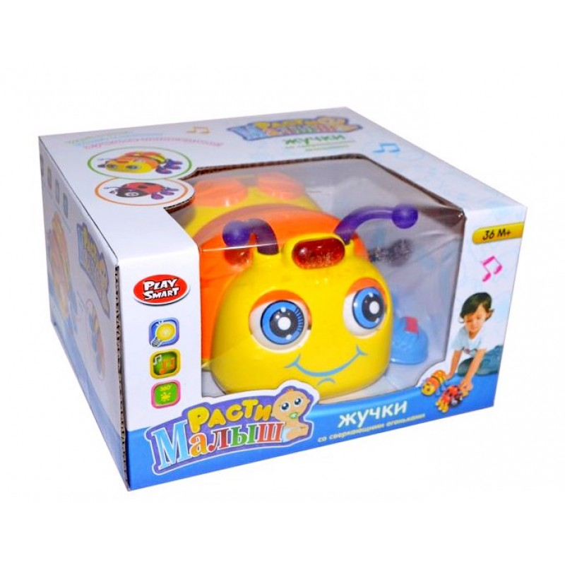 Музыкальная игрушка - Веселый жучок (Limo Toy 9443)