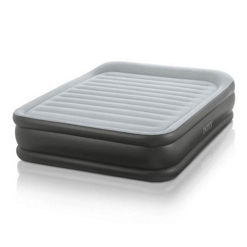 Надувная кровать Plush Bed со встроенным электронасосом (Intex 64140)