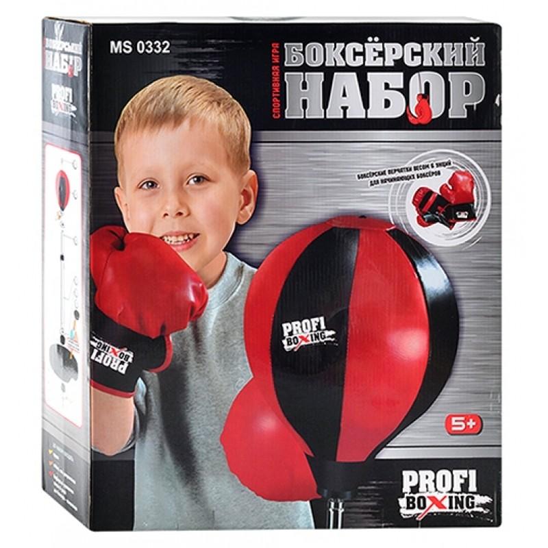 Боксерский набор Profi Boxing (Profi  MS0332)