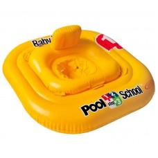 Надувной детский круг-плот, Pool School (Intex 56587)
