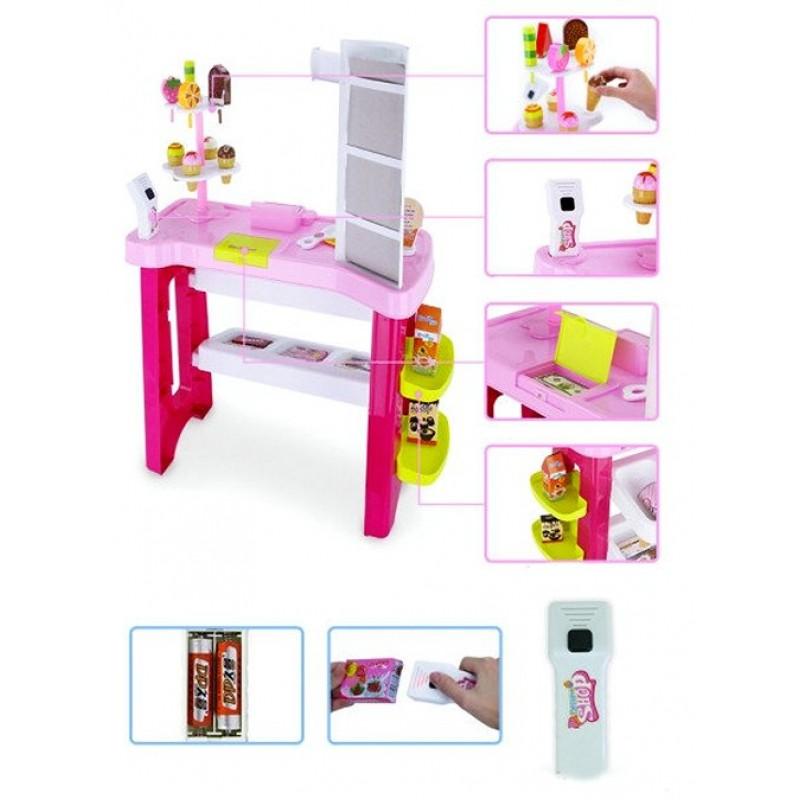 Игровой набор - Супермаркет сладостей (арт. 668-19-21)