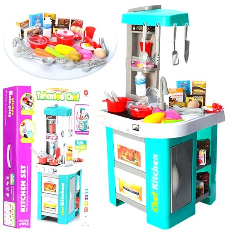 Кухня детская с водой, светом и звуком, 72.5 см. (арт. 922-48)