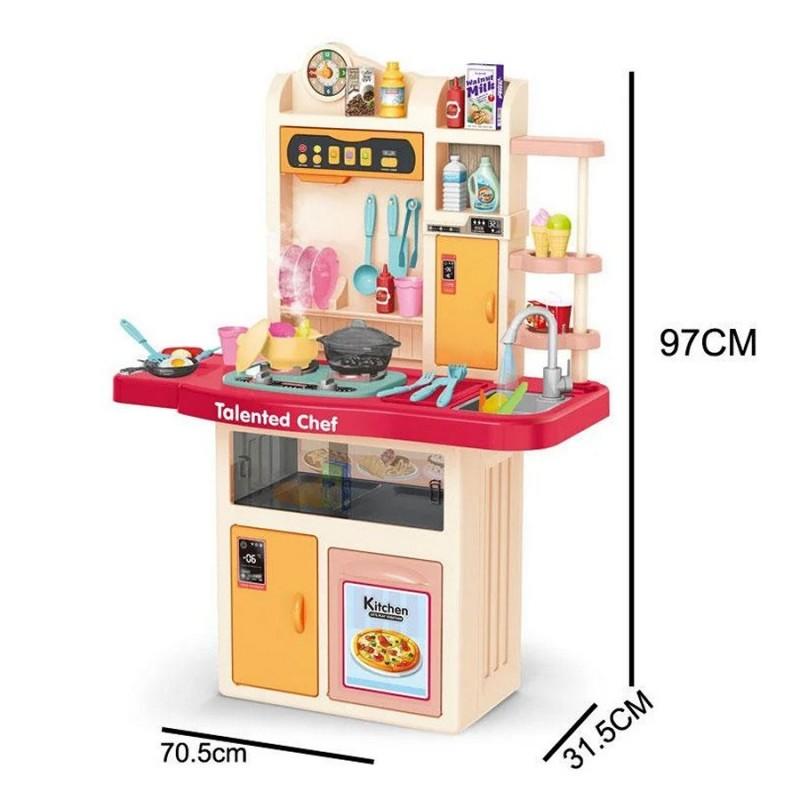 Детская игровая кухня Chef, 97 см с водой и паром (арт. 922-107)