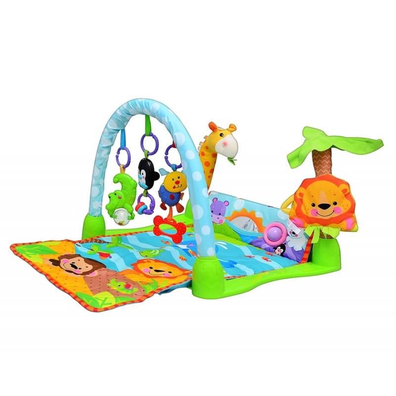 Детский развивающий коврик - Умный малыш (Joy Toy 7181)