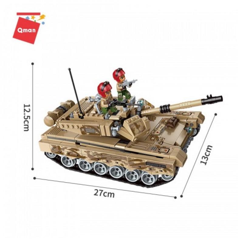 """Конструктор Brick """"Combat Zones - Военная техника"""" (Qman 1729)"""