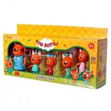 Игровой набор с фигурками - Три кота - 5 персонажей (арт. M-8811)