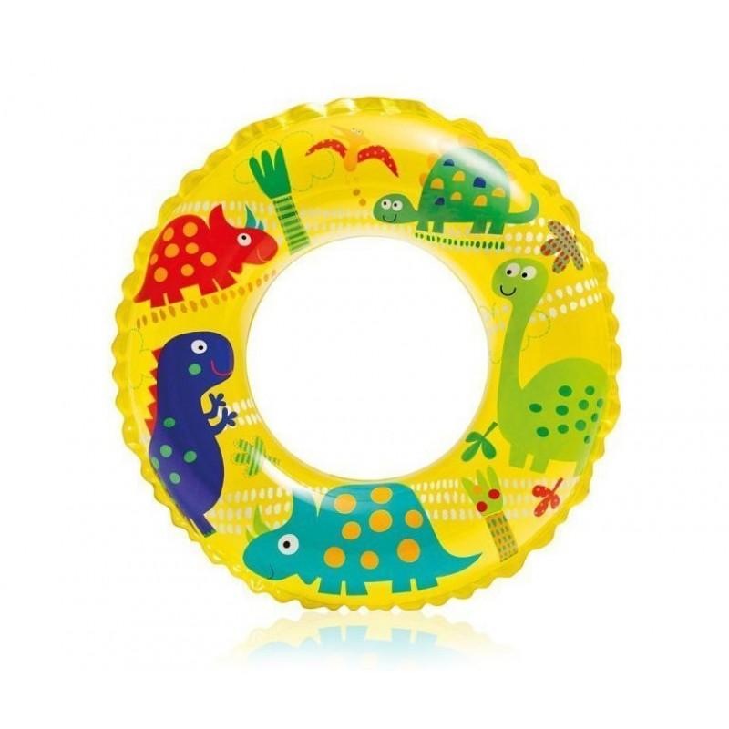 """Надувной детский круг """"Океанский риф"""" - Динозаврики (Intex 59242-3)"""