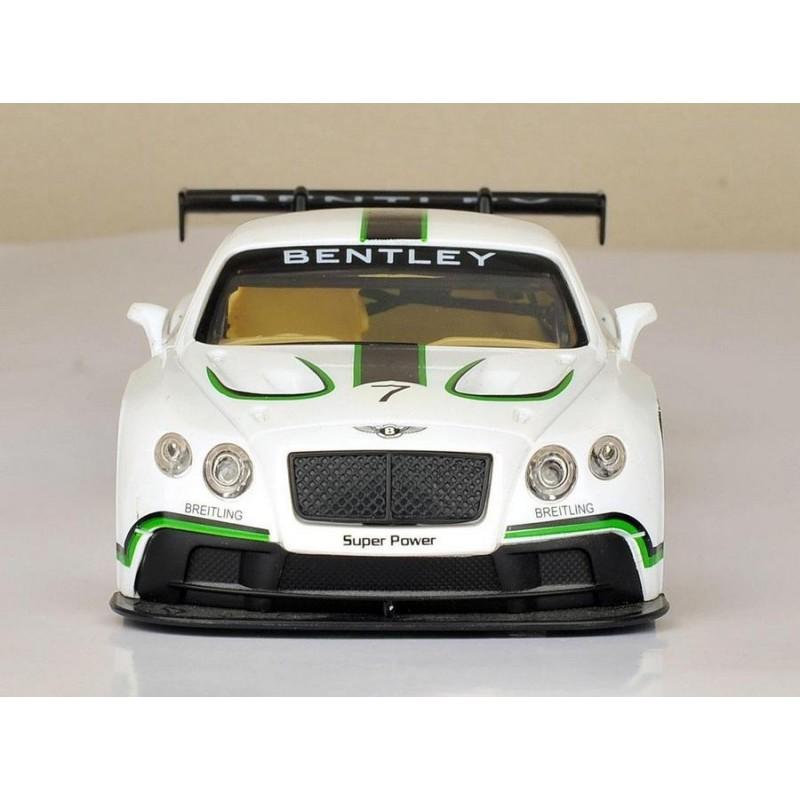 Автомодель 1:24 Bentley Continental GT3 Concep (Автопром 68266A)