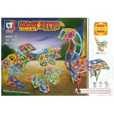 Конструктор магнитный Magnetic Sheet - Мир Динозавров, 97 дет (MagKiss LT2003)