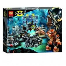 """Конструктор """"Batman MOVIE - Вторжение Глиноликого в бэт-пещеру"""" (Bela 11353)"""