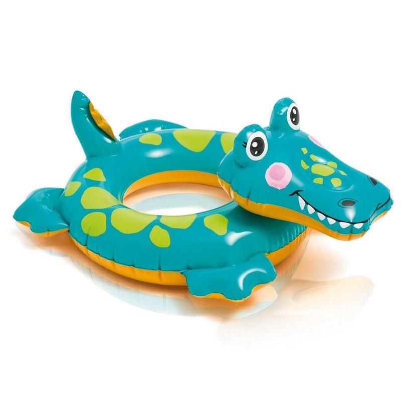 "Надувной круг ""Swim Rings"" - Крокодильчик (Intex 58221-3)"