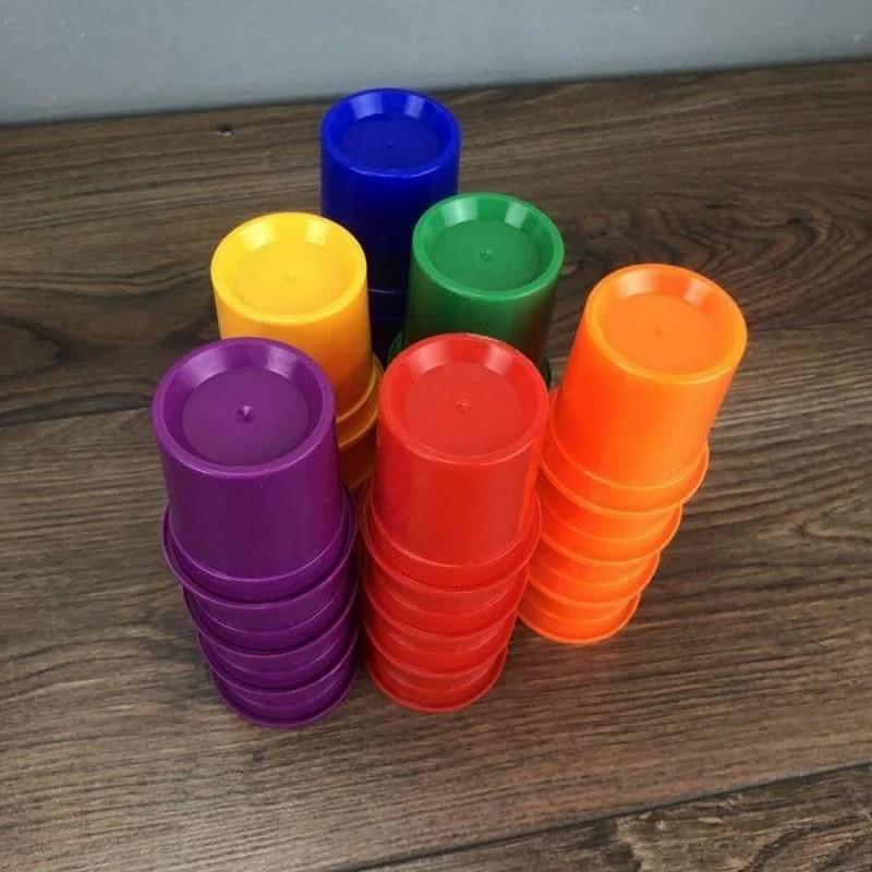 """Настольная игра """"Color Crazy Cups"""" (Danko Toys ССС-01-01)"""