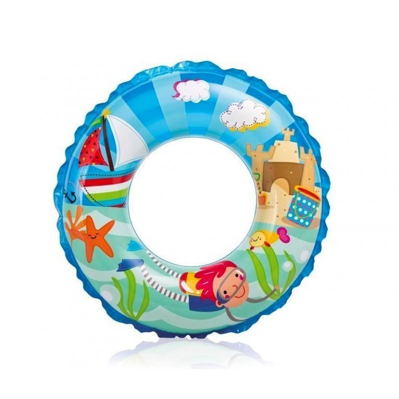 """Надувной детский круг """"Океанский риф"""" - Море (Intex 59242-2)"""
