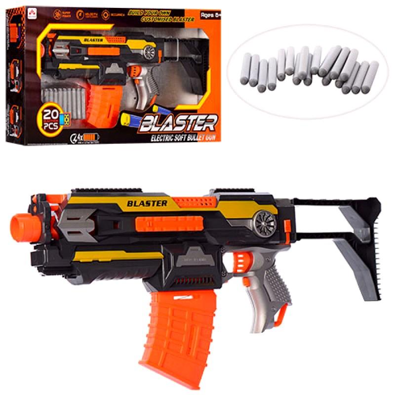 Бластер-автомат с поролоновыми пулями, 2 в 1 (арт. SB409)