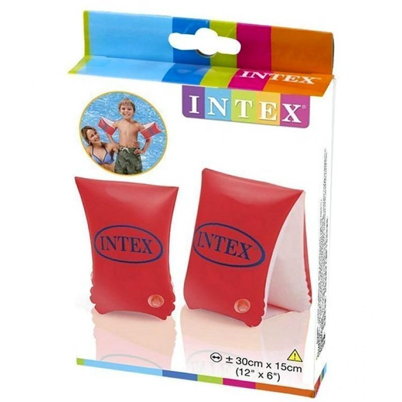 """Детские надувные нарукавники для плавания """"Люкс"""" (Intex 58641)"""