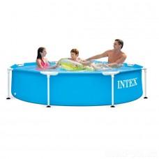 Каркасный круглый бассейн, 244 см (Intex 28205)