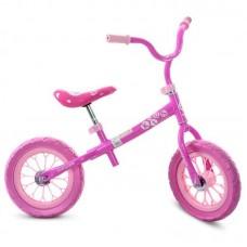 Беговел Profi Kids, Розовый, 12 дюйм. (арт. M3255-1)