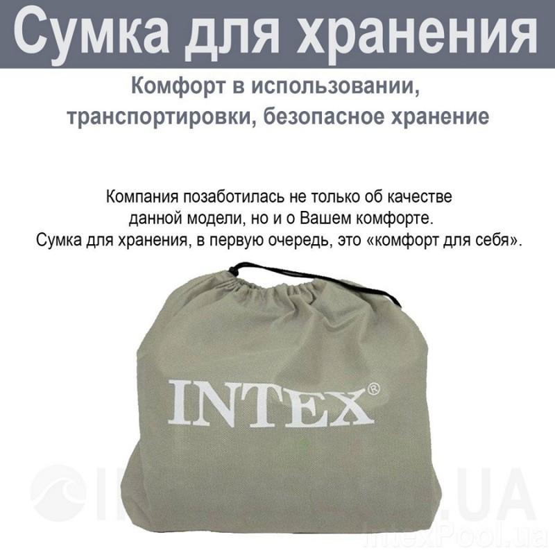 Детская надувная кровать (Intex 66810)