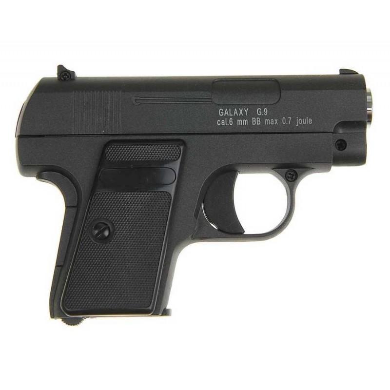 Игрушечный страйкбольный пистолет Colt 25 mini  (Galaxy G9)