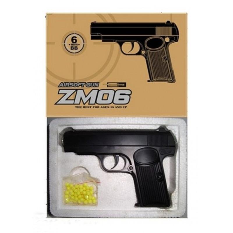 Игрушечный пистолет «ТТ», металл/пластик (CYMA ZM06)
