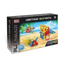 Магнитный конструктор - Океан, 20 деталей (Play Smart 2467)